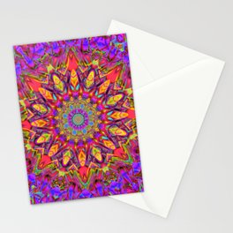 Abstract Flower AAA QQ YY Stationery Cards