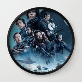 A Rogue One Wall Clock