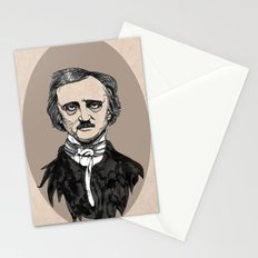 edgar allan poe Stationery Cards