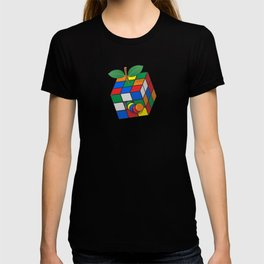Rubik's apple T-shirt