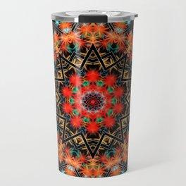 Mandala Flower 6 Travel Mug