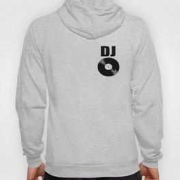 Dj record music logo Hoody