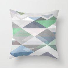Nordic Combination II Throw Pillow