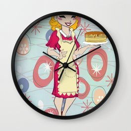 Cooking Mama Wall Clock