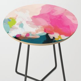 pink sky Side Table