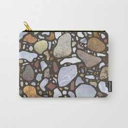 Terrazzo on Gray Carry-All Pouch