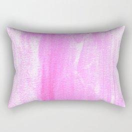 pink watercolor Rectangular Pillow