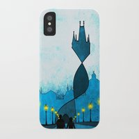 prague iPhone & iPod Cases featuring prague by Darthdaloon