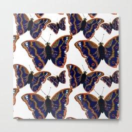 Purple Emperor Butterflies Metal Print