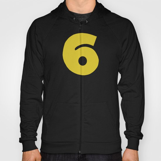 Number 6 Hoody