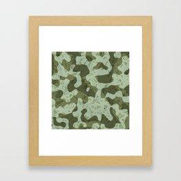 NOISE IV - (Noise Pattern Series) Framed Art Print