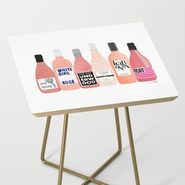 Rose Bottles Side Table