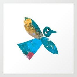 Beautiful Bird Art Print