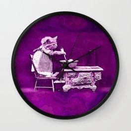 CatCurios 02A Wall Clock