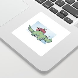Applegator Sticker