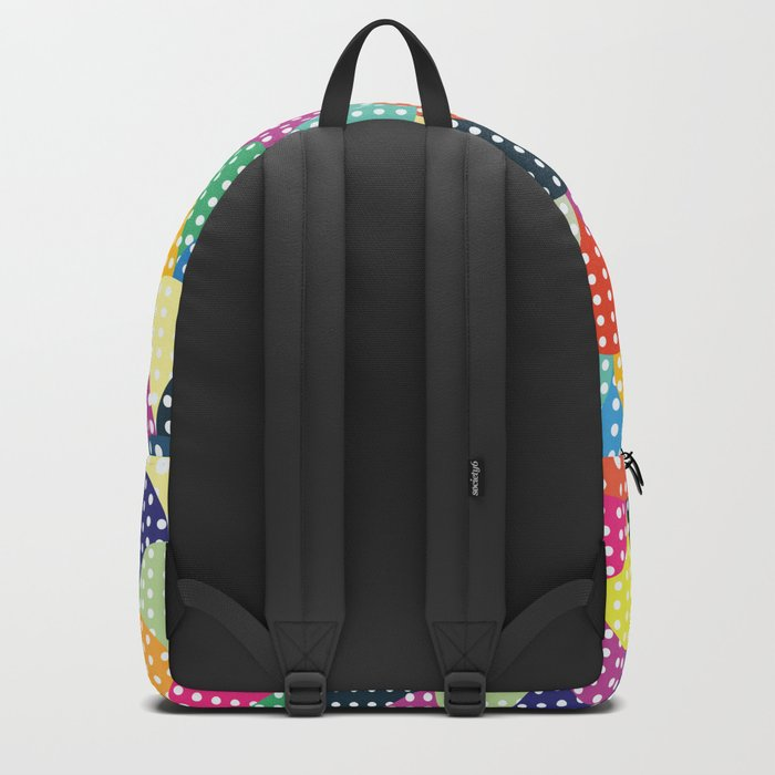 Colorful Circles III Backpack