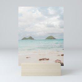 The Mokes at Lanikai Beach Mini Art Print