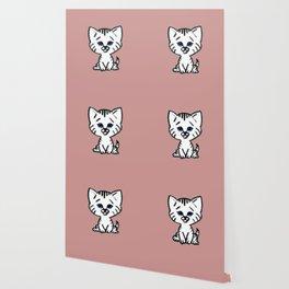 Chalkies cat color 4 Wallpaper