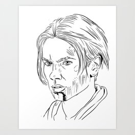 Young Indy Art Print