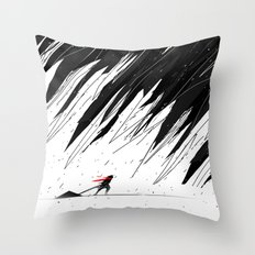 Geometric Storm Throw Pillow