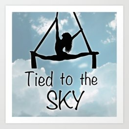"Aeiralist ""Tied to the Sky"" Graphic Art Print"