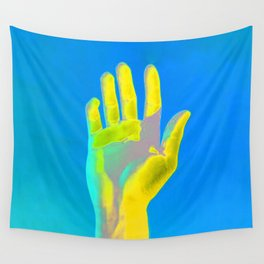 Hand Aesthetic 2 Wall Tapestry