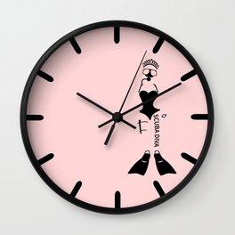 Scuba Diva Wall Clock