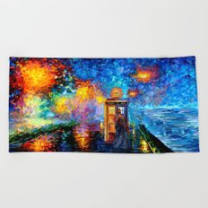 The 10th Doctor who Starry the night Art painting iPhone 4 4s 5 5c 6 7, pillow case, mugs and tshirt Beach Towel