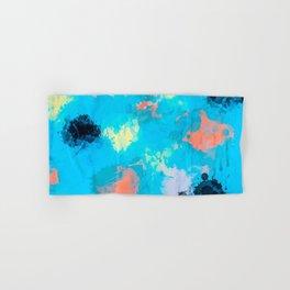 Abstract Paint splatter design Hand & Bath Towel