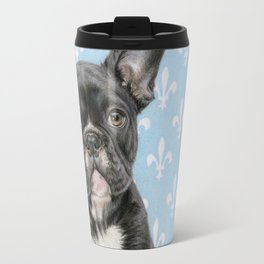 Draw Me Like One Of Your French Girls- Square Format Travel Mug