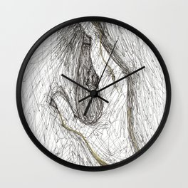 Take Hold Of Me Wall Clock