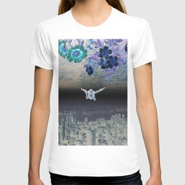 A Skydiver Between Two Parallel Universes T-shirt