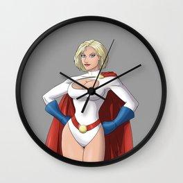 Powergirl Wall Clock