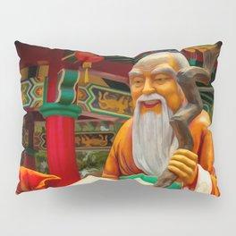 Yue Lao Statue Pillow Sham