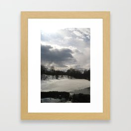 LUZ DE NORTE I Framed Art Print