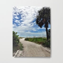 Pathway to the Sun Metal Print