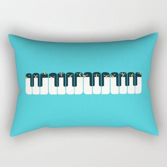 The Choir of Antarctica Rectangular Pillow