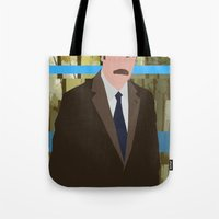 swanson Tote Bags featuring The Swanson by sens