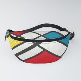 Mondrian De Stijl Fanny Pack