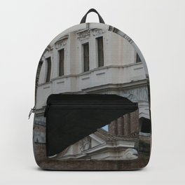 Basilica of St. Bartholomew on the Island, Rome, Italy Backpack