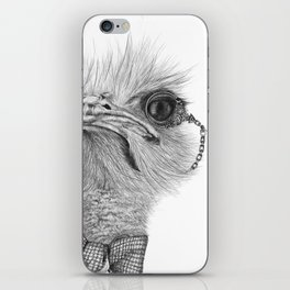 Mr. Ostrich iPhone Skin