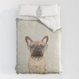 Mr French Bulldog Comforters