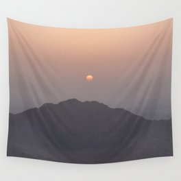 Sunrise at Moses Mountain. Wall Tapestry