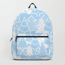 Elegant Christmas Trees Holiday Pattern Backpack