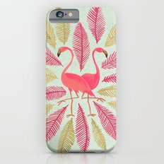 Flamingos – Pink & Gold iPhone 6 Slim Case