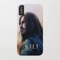 kili iPhone & iPod Cases featuring Kili (The Hobbit) by Grazia Vincoletto