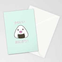 Cute Onigiri Kawaii ^.~ Stationery Cards