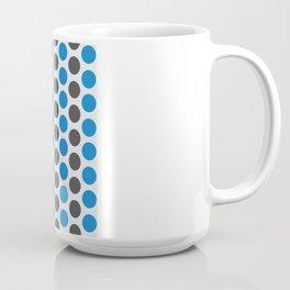 RINGS (DOTS) Blue / Grey Coffee Mug