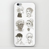 big hero 6 iPhone & iPod Skins featuring Big Hero 6 by AndytheLemon