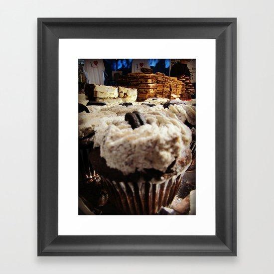 Endless Sea of Desserts Framed Art Print
